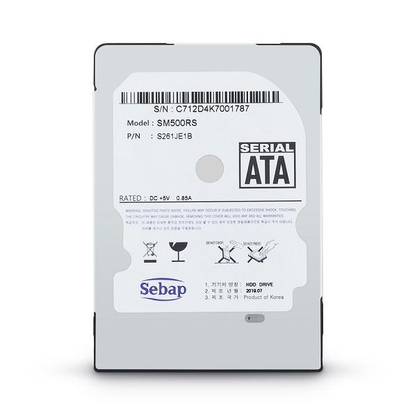 Brillante HDD 500GB SM500RS (2.5HDD/ SATA3/ 5400rpm/ 128MB/ SMR/ 7mm/ 리퍼비시)