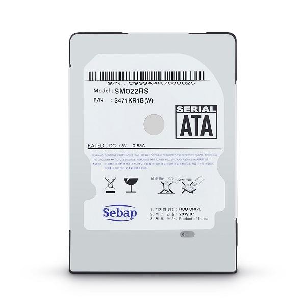 Brillante HDD 2TB SM022RS (2.5HDD/ SATA3/ 5400rpm/ 128MB/ SMR/ 7mm/ 리퍼비시)