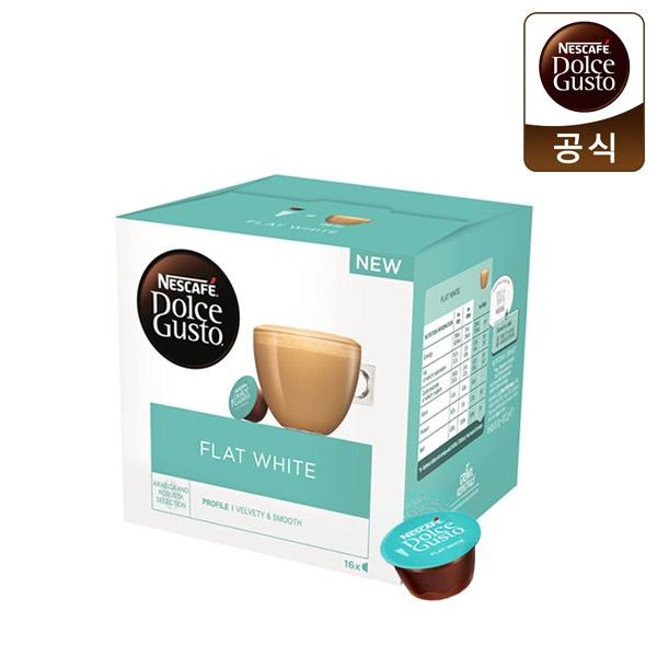 네슬레 네스카페 커피캡슐 [제품선택] 플랫화이트 (16캡슐)