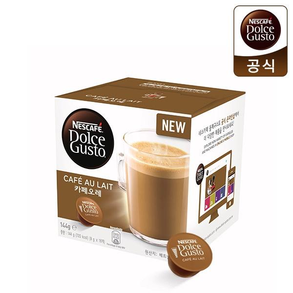 네슬레 네스카페 커피캡슐 [제품선택] 카페오레 (16캡슐)