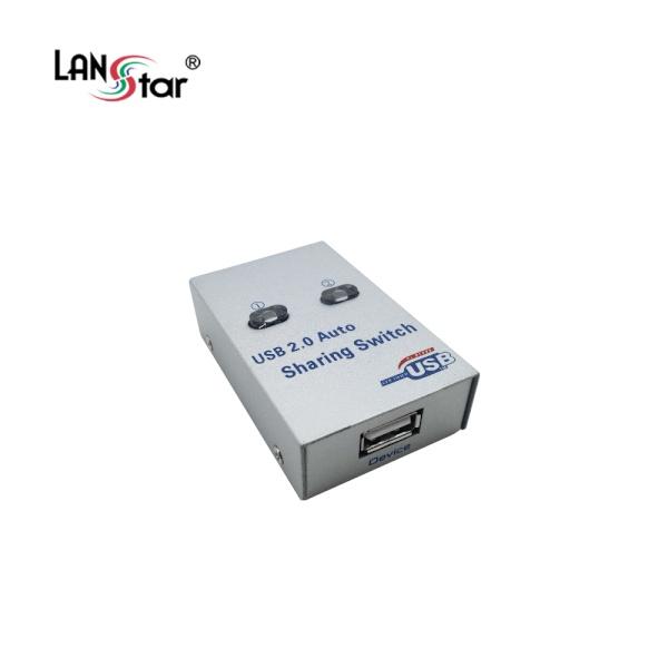 랜스타 [USB 선택기 1:2] A포트1 B포트2 [LS-USB12]