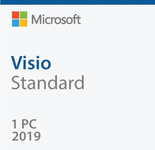 [D86-05868] Visio 2019 Standard [기업용/라이선스/한글/5개이상 구매가능]