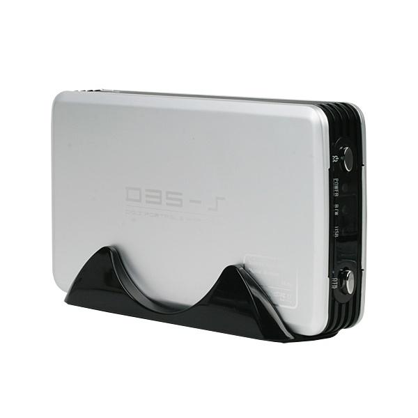 3.5인치 외장케이스, D35-S [USB 2.0] [실버]