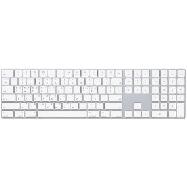 매직 키보드 Magic Keyboard with Numeric (실버) [MQ052KH/A] [애플코리아정품]
