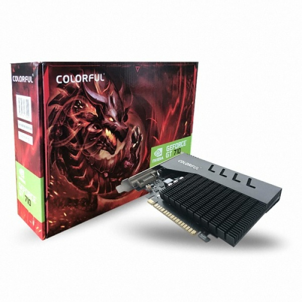 GeForce GT710 REVENGE D3 1GB