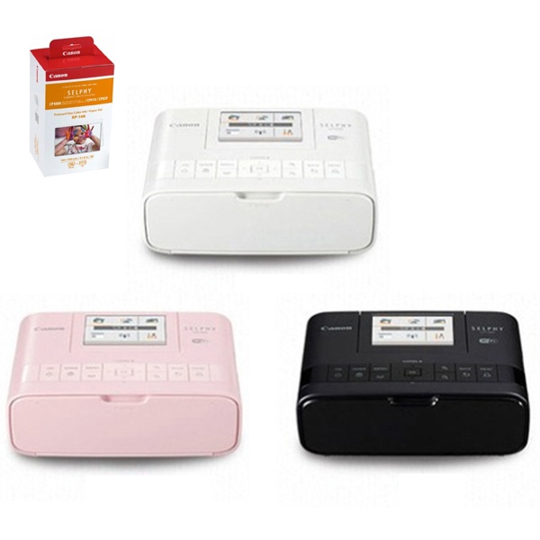 SELPHY CP1300 포토프린터+인화용지카트리지RP-108 패키지