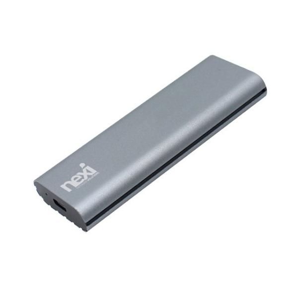 넥시 NX-S1202A SSD 외장케이스 (USB3.1 Type-C/NVMe M.2 SSD) [SSD미포함] [NX698]
