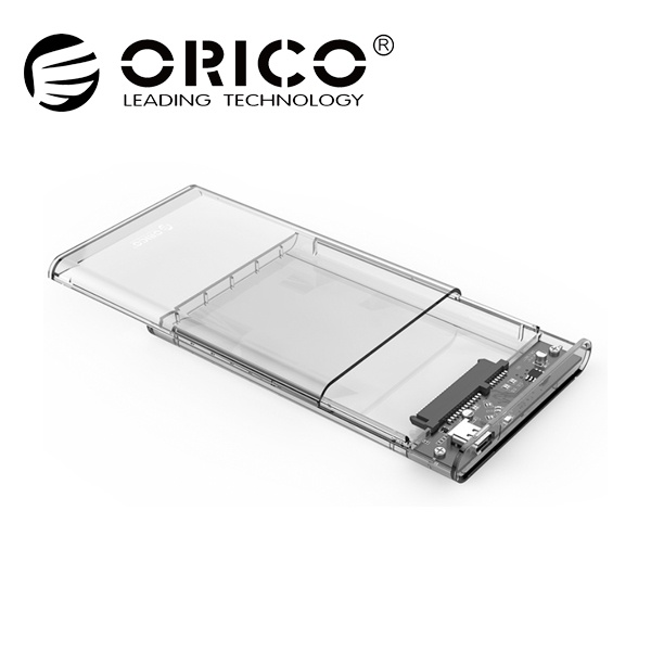 2.5인치 외장케이스, 2139C3-G2 [USB3.1 Gen2/C-C케이블 포함] [투명]