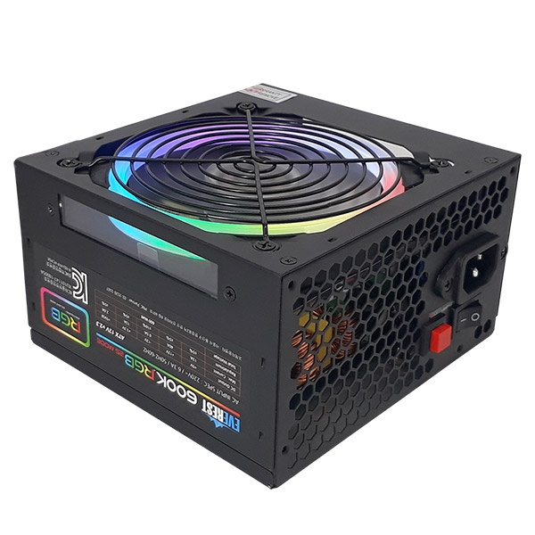 EVEREST 600K RGB (ATX/600W)