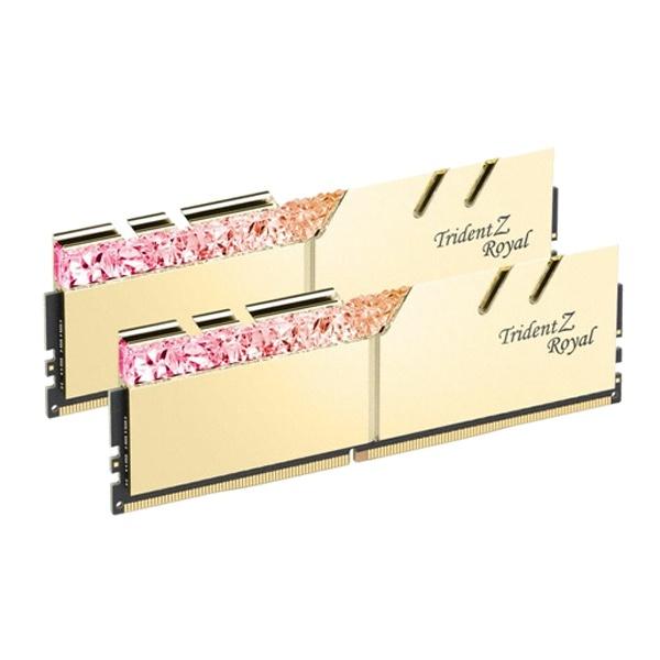 DDR4 32GB PC4-25600 [16GB x 2] CL14 TRIDENT Z ROYAL 골드