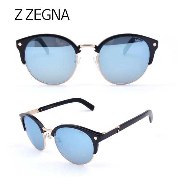 지제냐 선글라스 ZZ0016 01X 블루미러