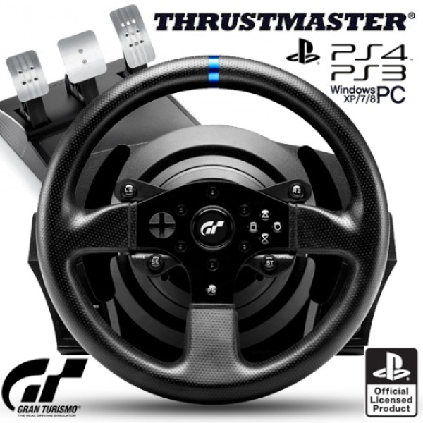 트러스트마스터 T300RS GT 레이싱휠 (PC,PS3,PS4 호환) [컴퓨존 특가 / 구매시 PS4 그란투리스모 증정]