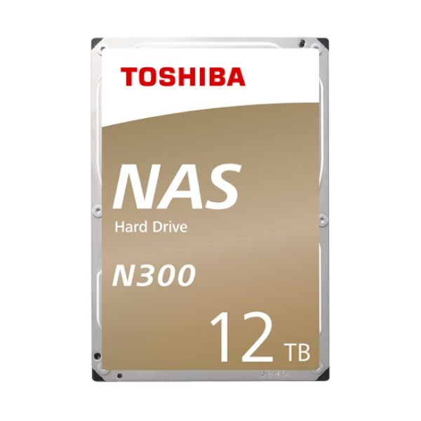 TOSHIBA N300 HDD 12TB HDWG21C (3.5HDD/ SATA3/ 7200rpm/ 256MB/ PMR)