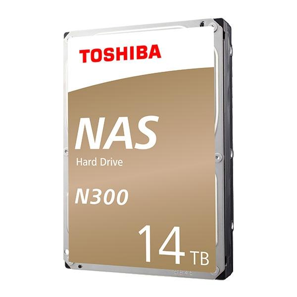 TOSHIBA N300 HDD 14TB HDWG21E (3.5HDD/ SATA3/ 7200rpm/ 256MB/ PMR)