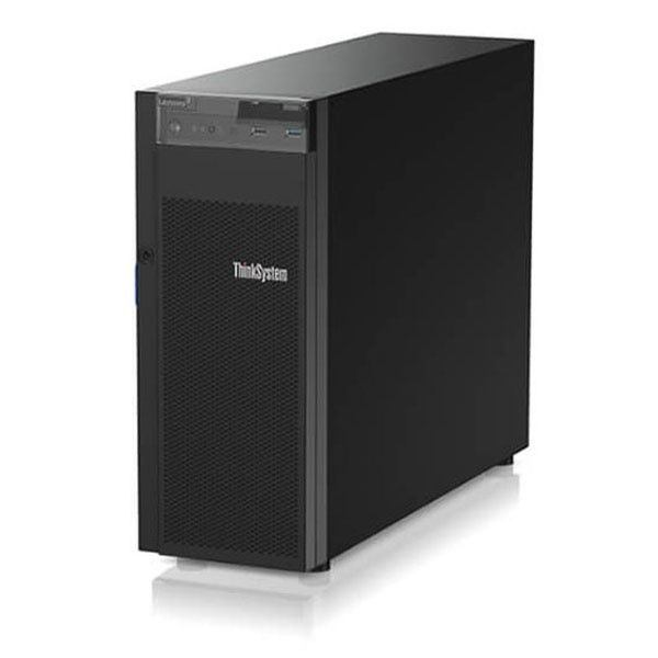 ThinkSystem ST250 Server [E-2126G 6C6T 3.3GHz 1x8GB 530‑8i 4LFF DVD-RW 1x550W 3yr Svr]