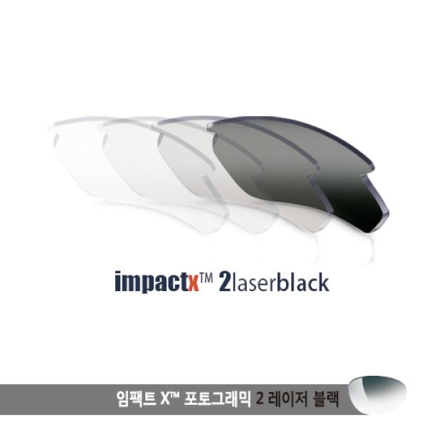 [루디프로젝트] 트랠릭스 SX 렌즈 임팩트 X2 레이저블랙 (LE397803D)