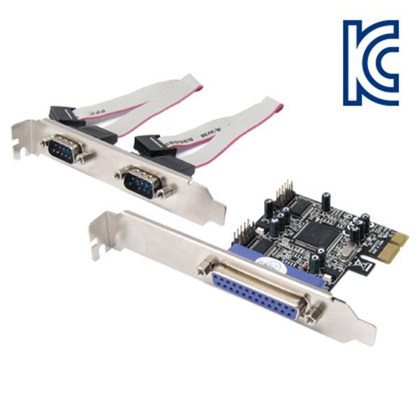 NETmate I-294 (시리얼/패러럴/PCI-E/MOS칩) [슬림PC겸용]