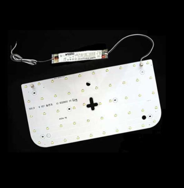 LED모듈 방등 오스람KS안정기+자석포함 LG칩 기판 [25W]