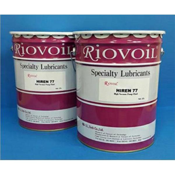 광유계 진공펌프오일 HIREN-77(20리터) Riovoil