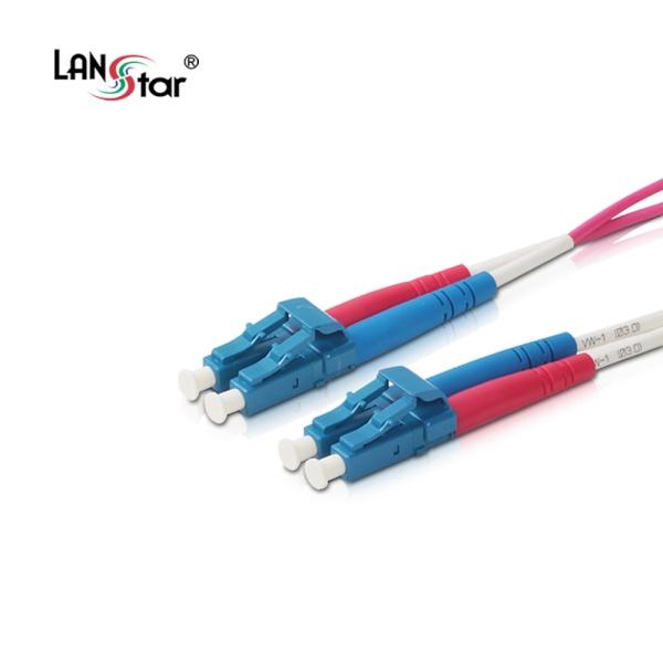 랜스타 LC-LC OM4, 멀티 광점퍼코드 30M [LS-OM4-LCLC-30M]