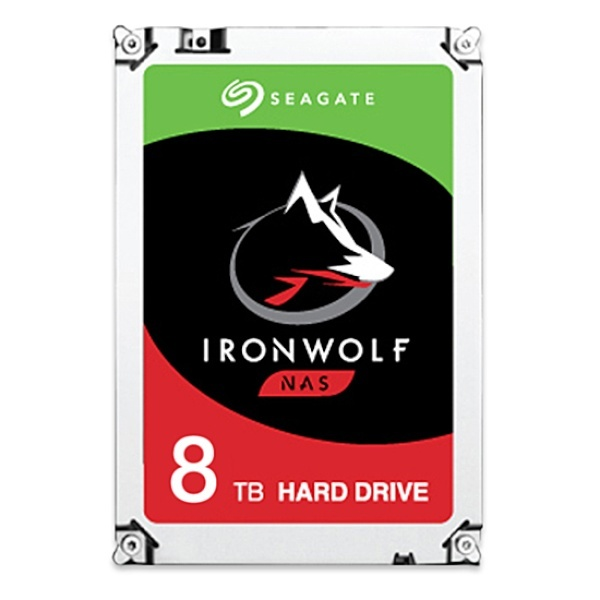IRONWOLF HDD 8TB ST8000VN004 (3.5HDD/ SATA3/ 7200rpm/ 256MB/ PMR)