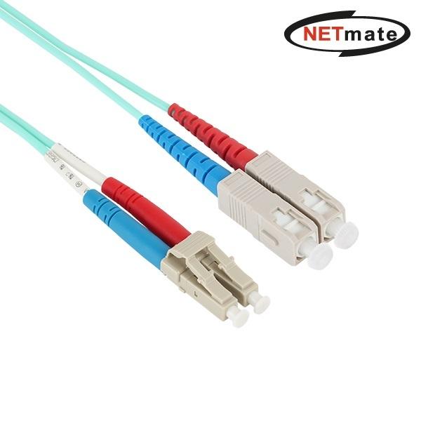 NETMate 광점퍼코드 10G LC-SC-2C-멀티모드 5M [NMC-LS405M]