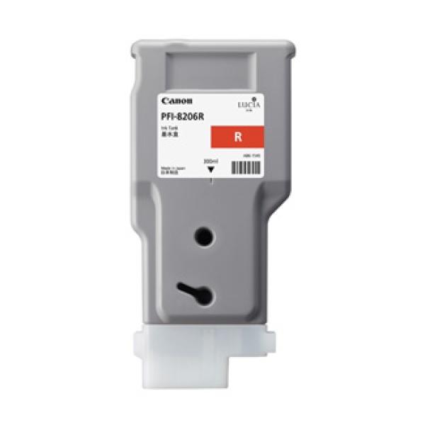 정품플로터잉크 PFI-8206R Red (IPF-6410/300ml)