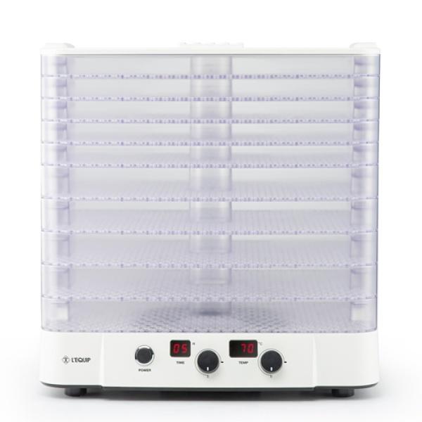 [리큅] 투명트레이 10단 식품건조기 LD-109 T55W