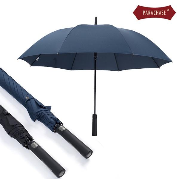 파라체이스 일자 포인트 그립 자동 장우산 #7163