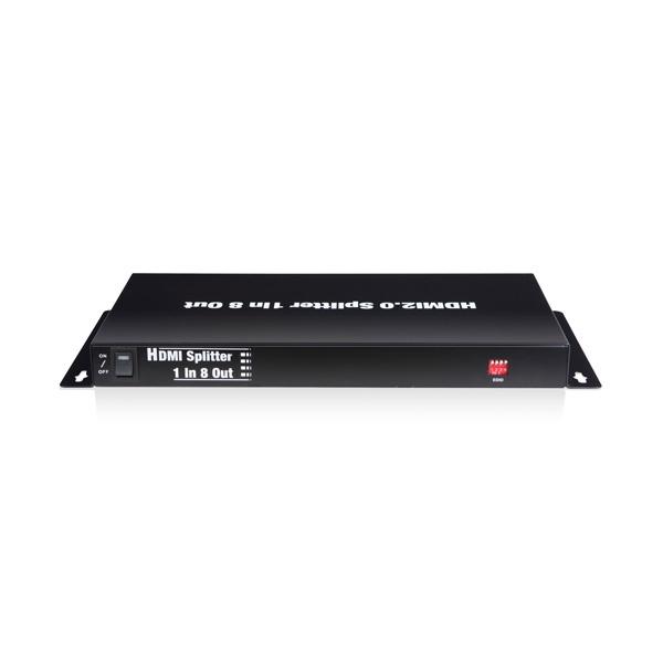 이지넷 NEXT 408SP4K60 (모니터분배기/1:8/HDMI/오디오지원)