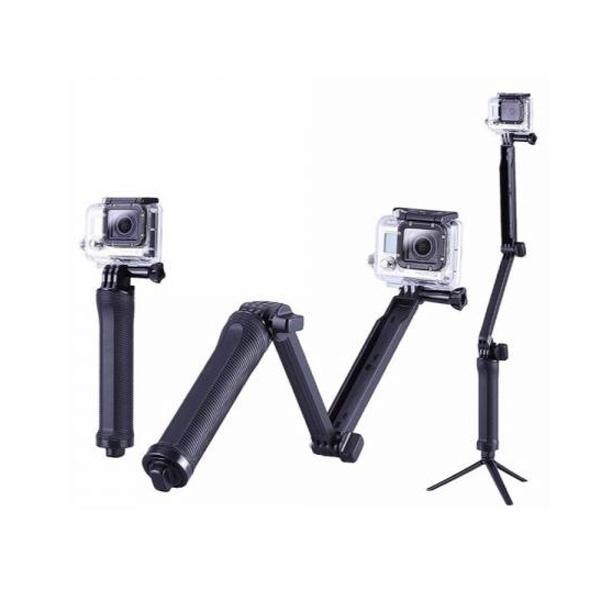 [고프로 악세사리] 액션캠 호환 3-Way 그립 [AC-2057]