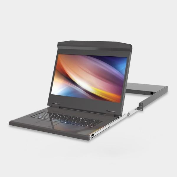 엘이디씨 18.5인치(Full HD) 1포트 LCD KVM 스위치 [A1801AU-H]