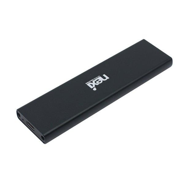 SSD 케이스, 넥시 USB3.1 M.2(NGFF) [SSD미포함][NX-U31M2][NX833] [블랙]