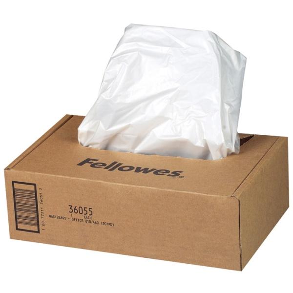 세단기 폐지함 비닐백 [130L/50매]