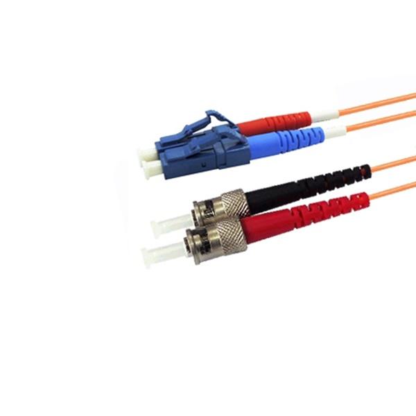 인네트워크 LC-ST, OM1,  멀티 광점퍼코드 3M [IN-LC-ST-DP-멀티-3M]