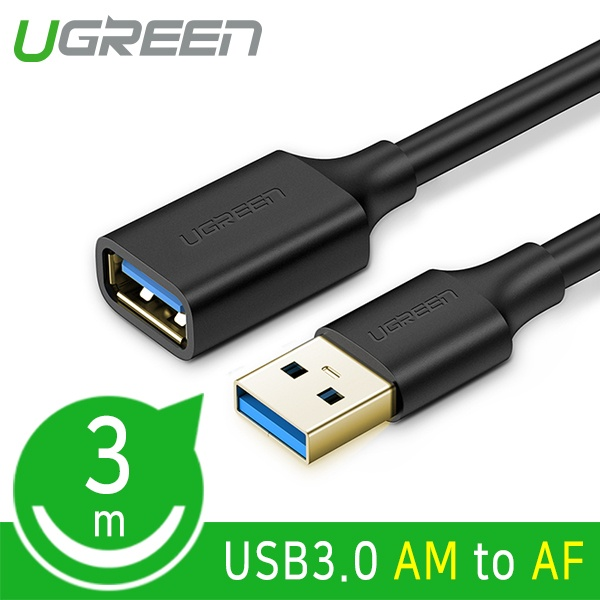 유그린 USB3.0 연장 케이블 [AM-AF] 3M [U-30127]