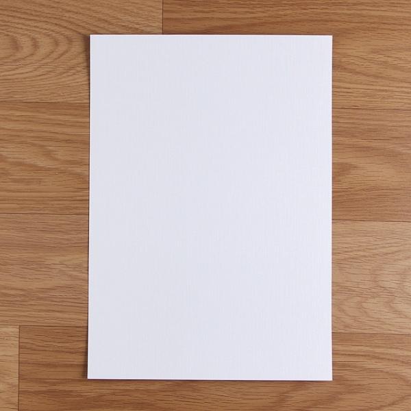미니멀화이트 유광 잉크젯 인화지 A4 [50매]