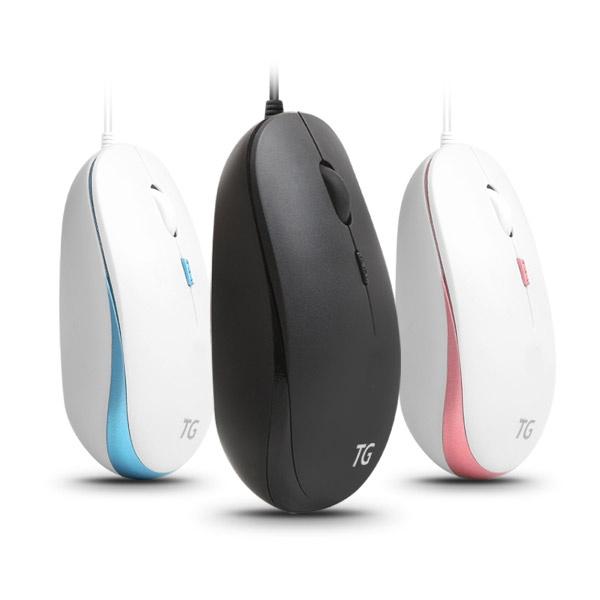 유선 광마우스, TG-M300U [핑크/USB]