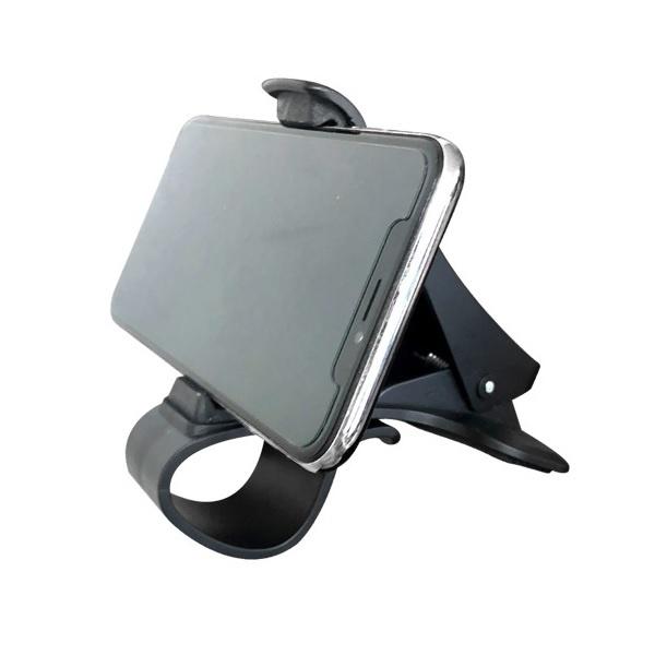 차량용 대쉬보드 거치대 UC-CA7 [스마트폰/계기판/집게(클립)/그립/블랙]