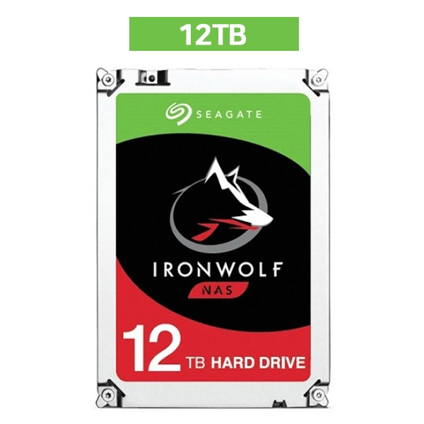 IRONWOLF HDD 12TB ST12000VN0008 (3.5HDD/ SATA3/ 7200rpm/ 256MB/ PMR)