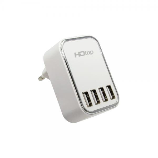 HDTOP USB 4포트 DC 5V 4.5A 아답터 멀티 충전기 HT-5V45