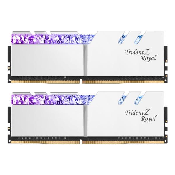 DDR4 16G PC4-28800 CL16 TRIDENT Z ROYAL C 실버 (8Gx2)