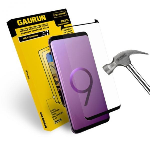 갤럭시S9+ 풀커버 3D 강화유리 액정보호필름 1매(가이드 툴 포함)