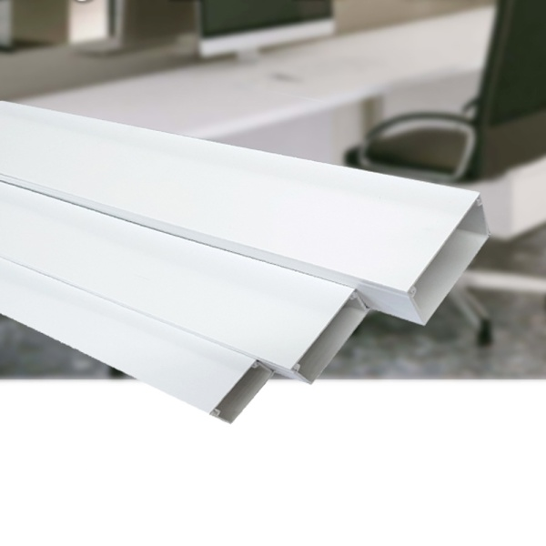 PVC 랜덕트, 40mm X 30mm, 1호 [백색/1개]