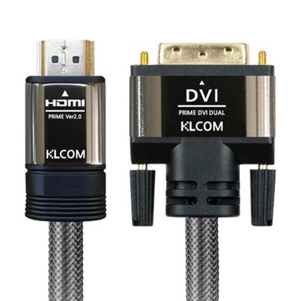 KLCOM HDMI to DVI 고급형 케이블 2M [KL43]