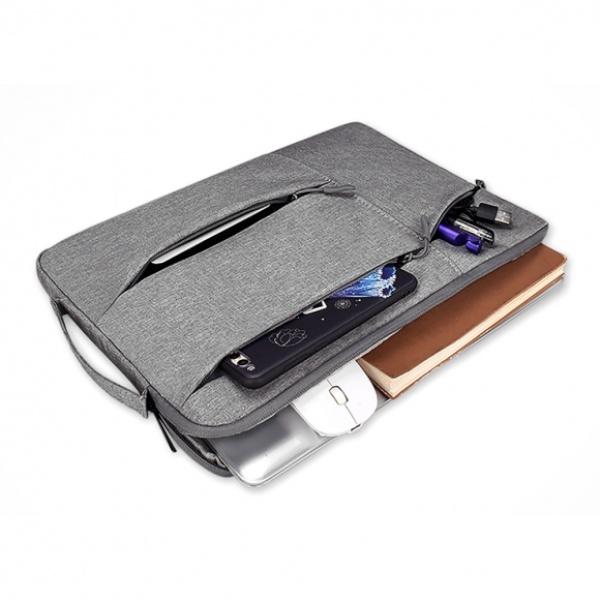[GTS32990] 손잡이 노트북 파우치(그레이) (39x27cm)