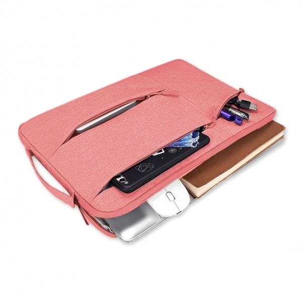 [GTS33012] 손잡이 노트북 파우치(핑크) (35x26cm)