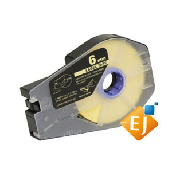 TM-LBC6Y 튜브 라벨테이프 황색 6mm
