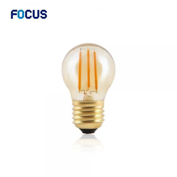 LED COB 에디슨전구 G45 인찌구 클래식램프 [2.5W/전구색(노란빛)]