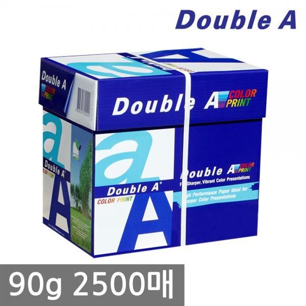 더블에이 A4 복사용지 90g 1BOX (2500매) [무료배송]